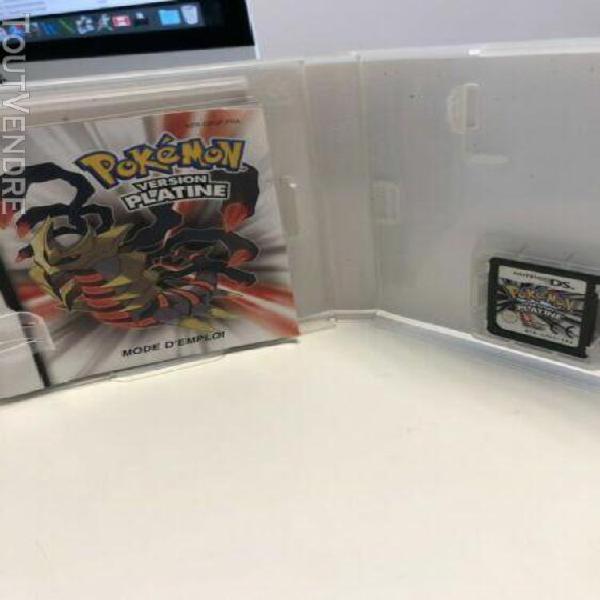 Pokemon version platine ds / 3ds / complet / fr