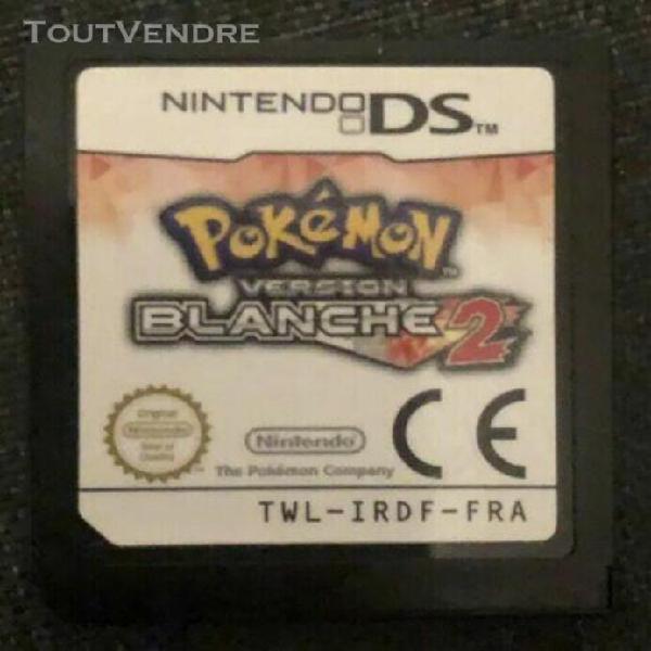 Pokémon version blanche 2 - nintendo ds / 3ds / 2ds - vf -