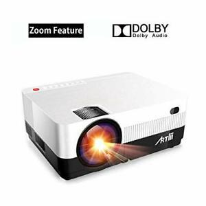 Vidéoprojecteur avec fonction zoom - artlii projecteur