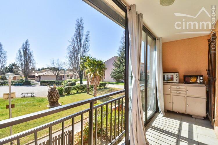 Achat - saint-cyprien 66750 - appartement 2 pieces - 1 er et