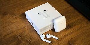 Apple airpods 2ème génération avec boîtier de charge