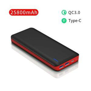 Batterie externe 25800mah type-c charge rapide qc3.0 ultra