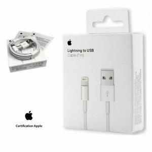 Cable usb chargeur original apple lightning pour iphone