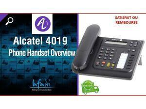 Telephone numerique alcatel 4019 utilisation facile et