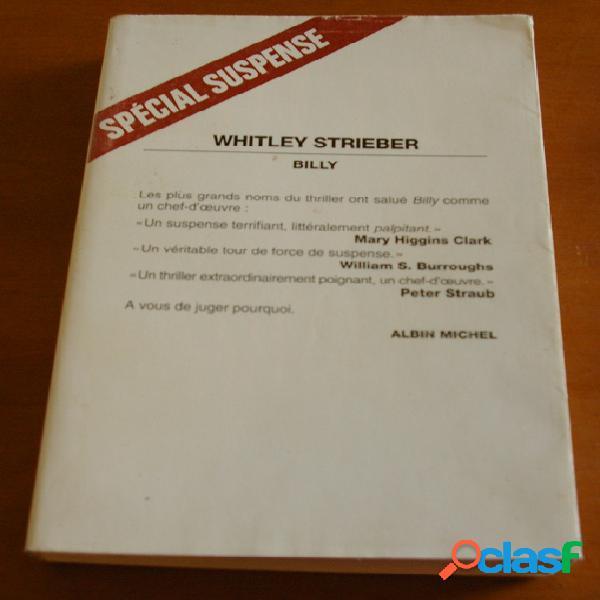 Billy, whitley strieber