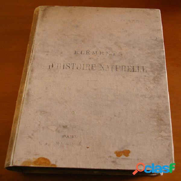 Elements d'histoire naturelle, e. aubert