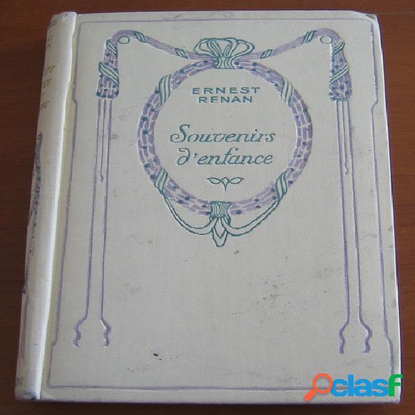 Souvenirs d'enfance et de jeunesse, Ernest Renan