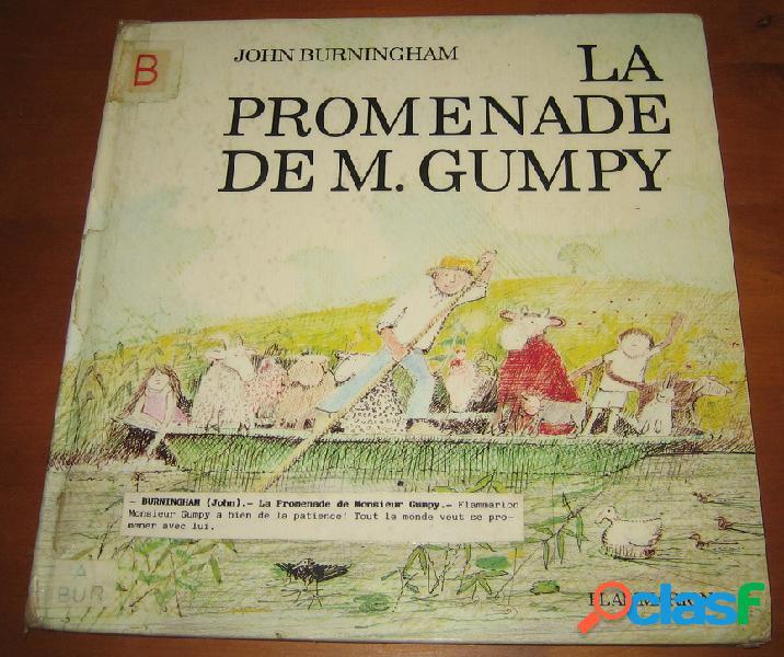 La promenade de m. gumpy, john burningham