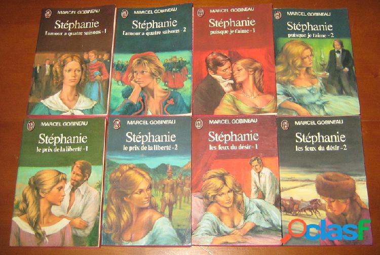Stéphanie (8 tomes), marcel gobineau