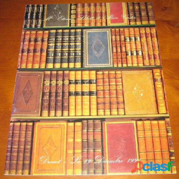 Bibliothèque xixe siècle, curiosa, beaux-arts, documentations, régionalisme, généalogie, médecine, sciences