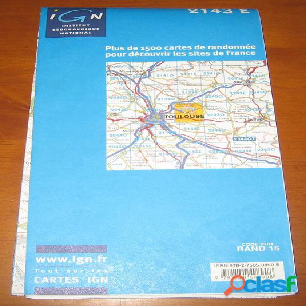 Carte de randonnée: montastruc-la-conseillère