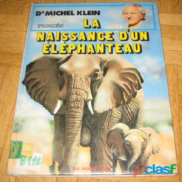 La naissance d'un éléphanteau, michel klein