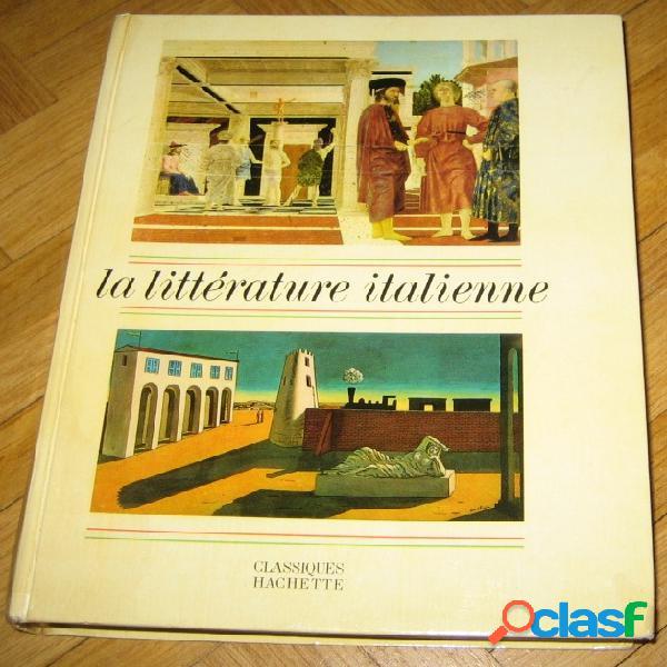La littérature italienne, g. genot et j.savi