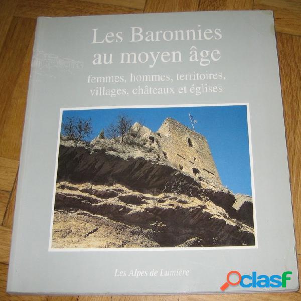 Les baronnies au moyen âge