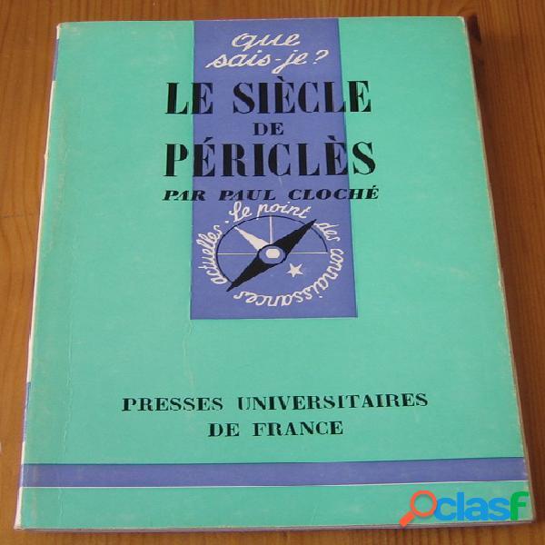 Le siècle de Périclès, Paul Cloché
