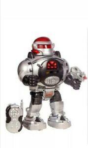 Robot jouet marche parle tourne avec bruitages lumières