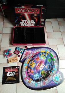 Monopoly star wars disney hasbro complet