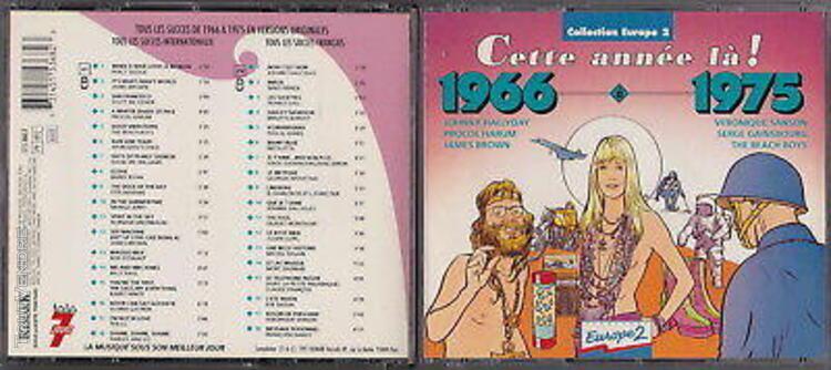 Cd 1966 à 1975 cette annee la 2 cd 36 titres