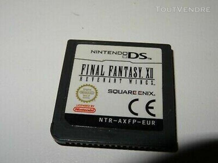 Final fantasy xii - jeu nintendo ds lite dsi xl (loose)