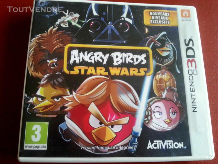 Jeu angry birds star wars nintendo 3ds ttbe