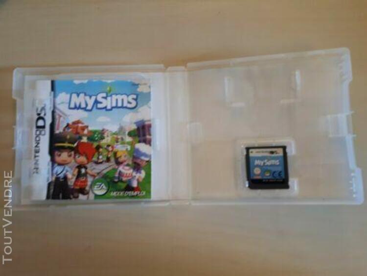 Jeux ds my sims (avec boite)