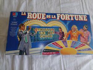 La roue de la fortune - jeu de société vintage - retro