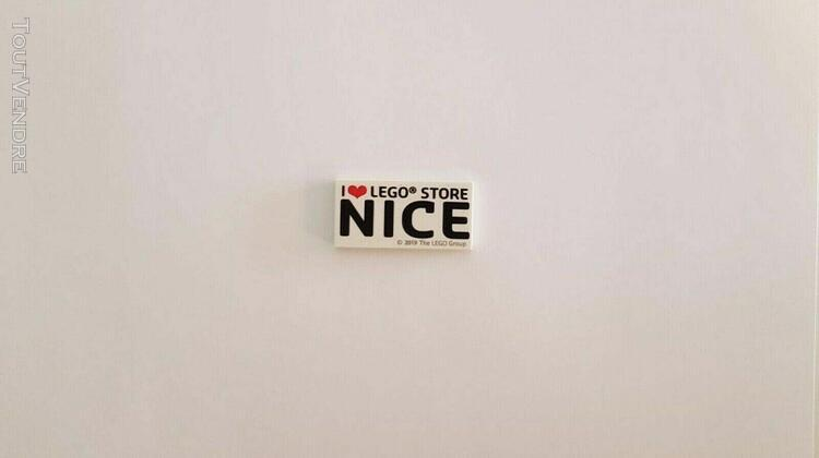 """Lego tile """"i love lego store nice"""" exclusive tile 2x4 - very"""