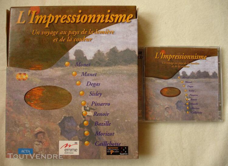 L'impressionnisme cdrom big box