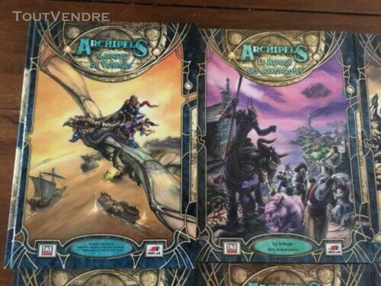Lot archipels dungeons & dragons 3ème édition arkonautes