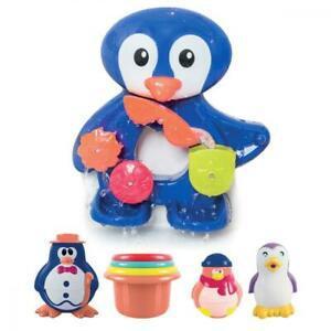 Ludi - un grand pingouin pour jouer à l'heure du bain.