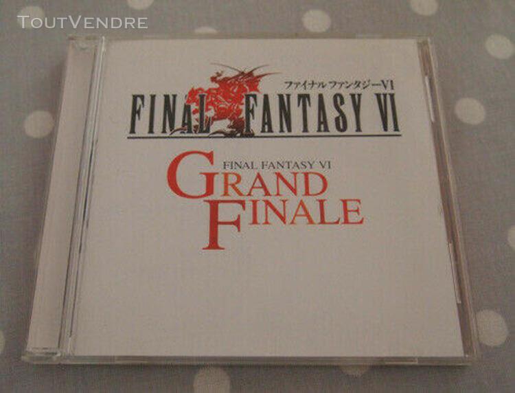Ost: final fantasy vi grand finale soundtracks