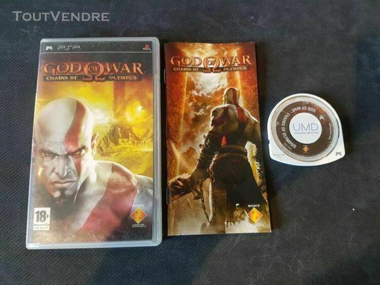 psp - god of war chains of olympus