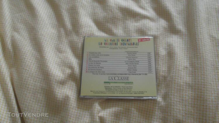 Rare cd la classe revigny chante titres de jacques brel ch