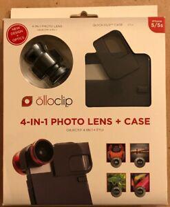 Olloclip objectif/lens 4 en 1 + étui pour iphone 5/5s neuf