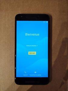 Smartphone portable lg google nexus 5x 32 go blanc quartz