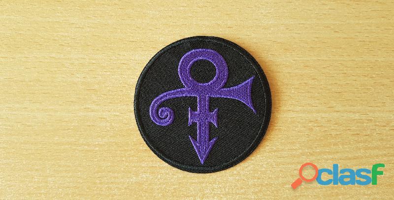 Ecusson brodé prince logo love symbol thermocollant