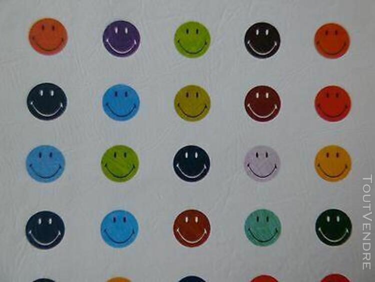 Housse ordinateur portable smileys multicolores jusqu'à 15