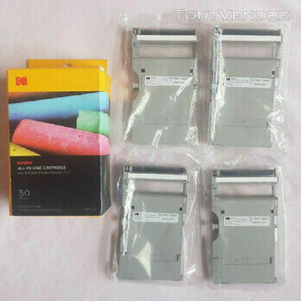 Kodak all in one lot 4 cartouches pour imprimante photo prin