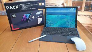 Lot pc/tablette surface pro 6 + clavier + souris arc +