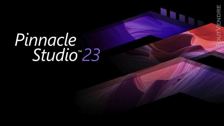 Pinnacle studio 23 + key + content pack (x64) + digital dow