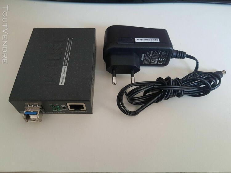 Planet gt-905a convert.manageable rj45 giga. vers fibre sfp