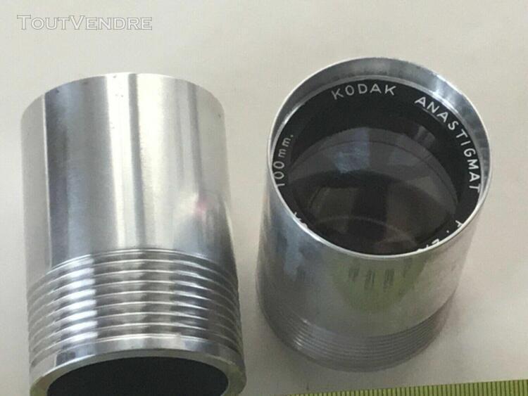 Angenieux 100 mm 2.8 lot de 2 objectifs