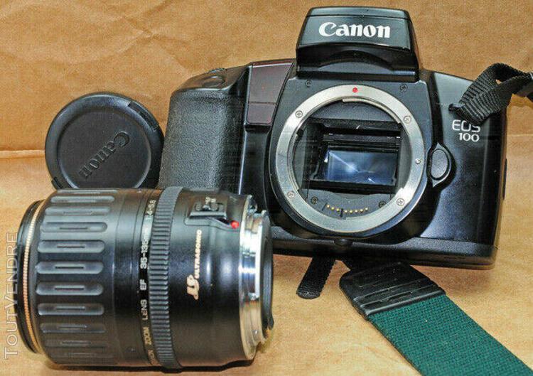 Canon eos 100 + canon lens 35/135+kit metz 45 cl3complet (ar
