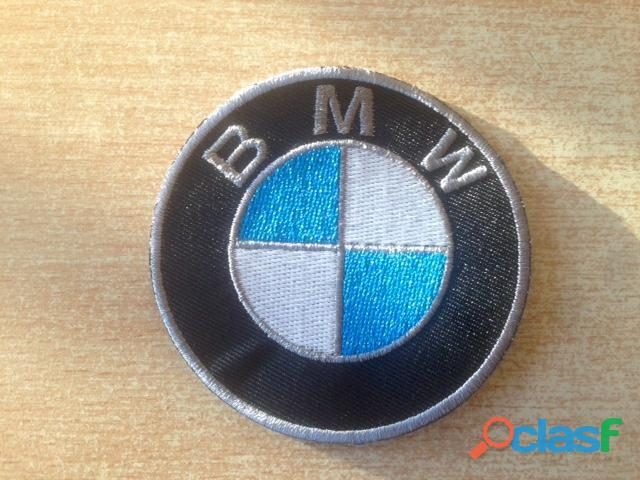 Écusson patch bmw moto auto Thermocollant diamètre 6,5 cm