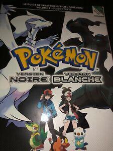 Guide de stratégie livre pokémon noir blanc officiel book
