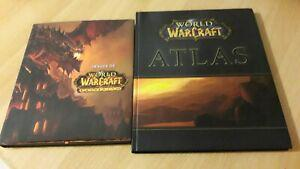 Lot world of warcraft - atlas + images de cataclysm