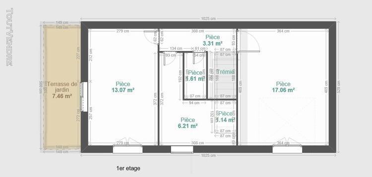 Maison t3 / t4 avec garage - saint jean de maurienne secteur