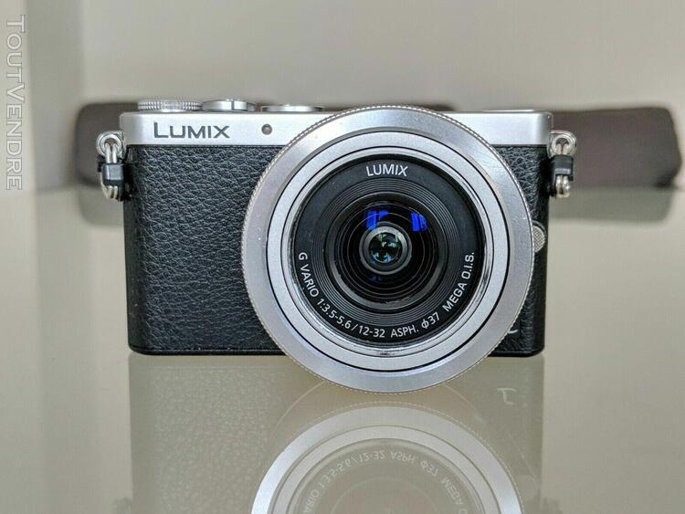 Panasonic lumix gm1 with 3 batteries and 64gb sd card
