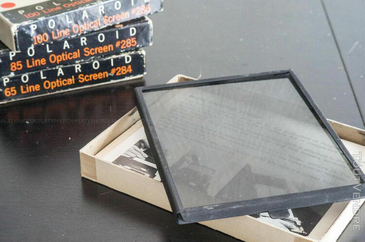 Polaroid line optical screen #284, #285, #286, #287