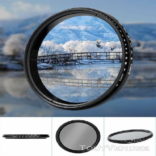 Shun yi nd2-400 77mm réglable densité neutre fader filtre